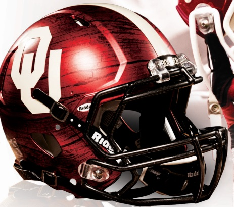 Sooner Football Helmet-2