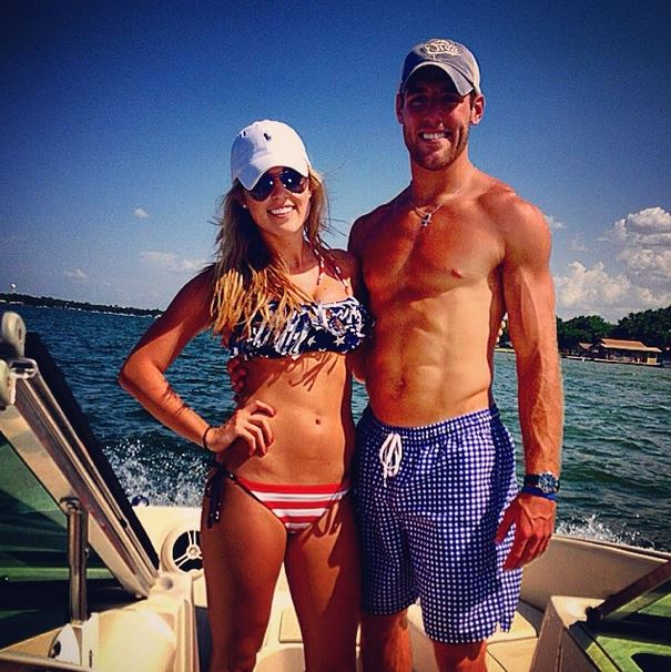 Trevor Knight and girlfriend Kate Williams